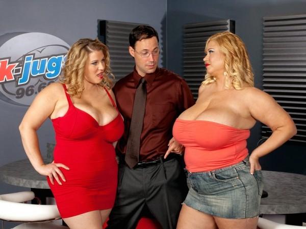 K-JUGS: Samantha and Renee Threesome